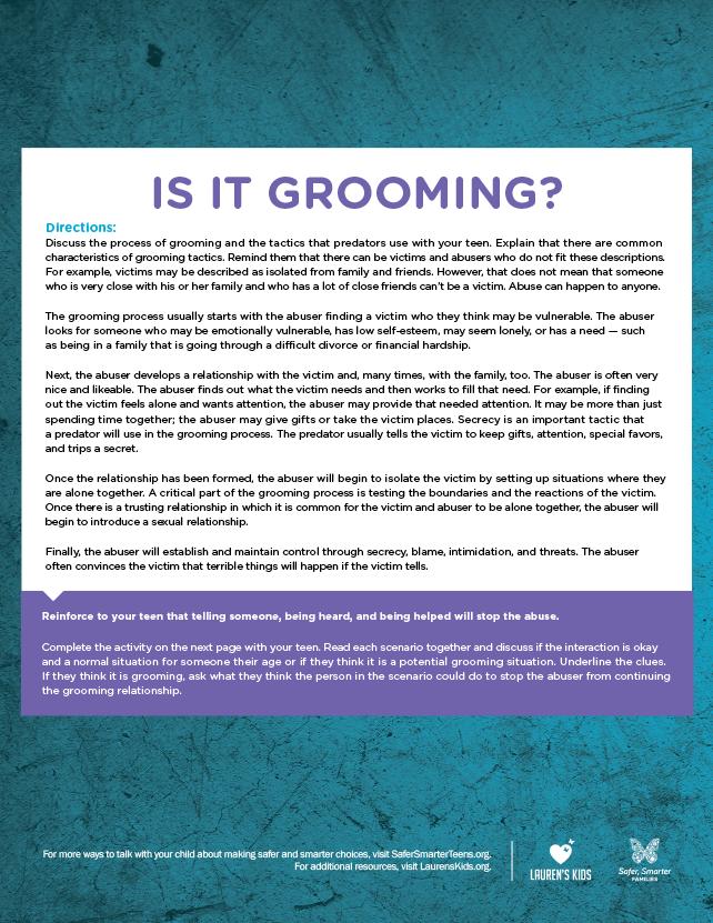 isItGrooming