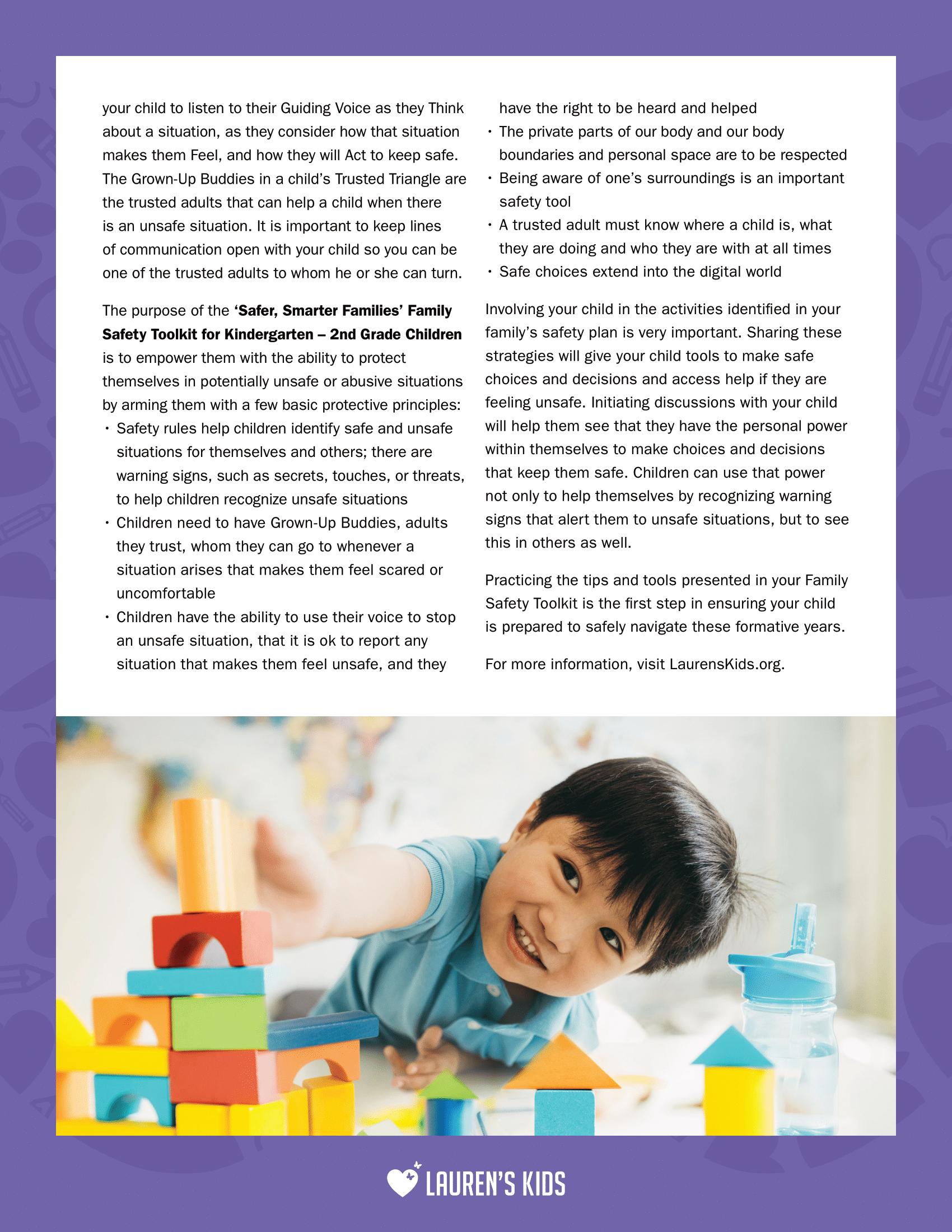 SSF_SafetyPlan_Newsletter_K-2-2